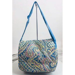Vera Bradley Capri Blue Very Large Bookbag